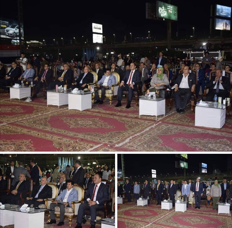 احتفال الوزارة بالعيد القومي للمحافظة القاهرة